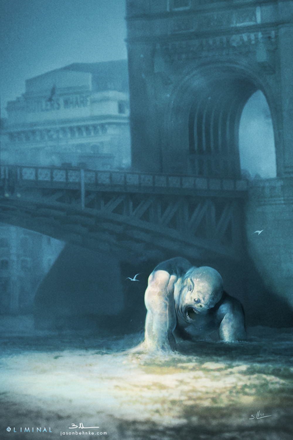 Troll Bridge Artwork by Jason Behnke