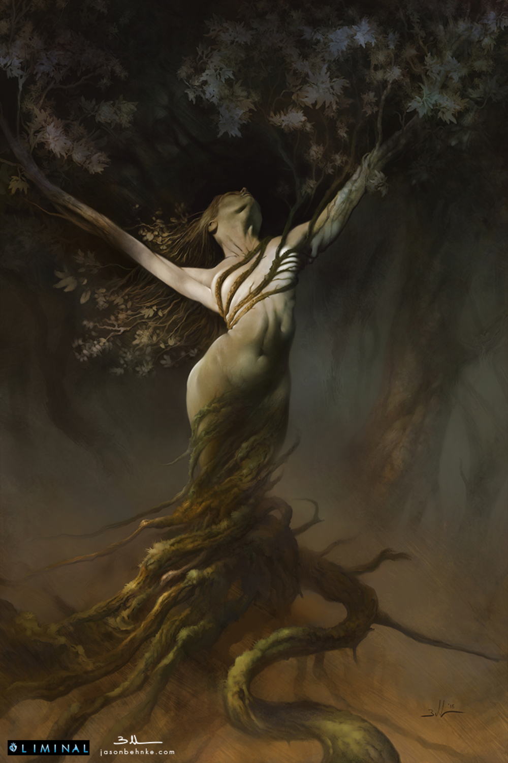 Fae Spirit Artwork by Jason Behnke