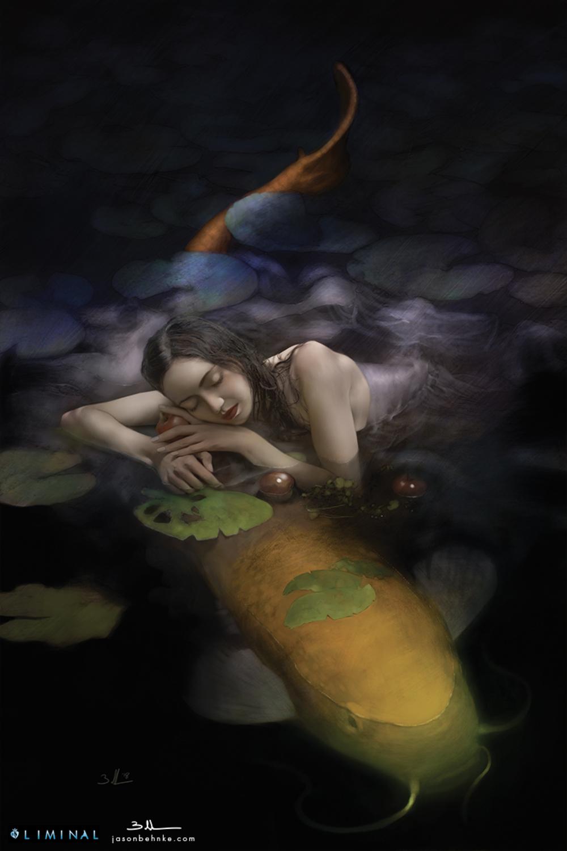 Fish Girl Artwork by Jason Behnke