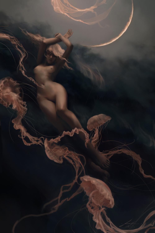 Shimmer Artwork by Jeszika Le Vye
