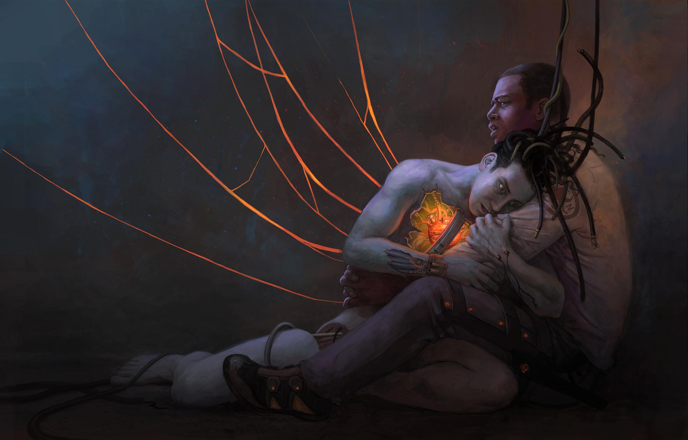 Backbone Practise I Artwork by Stella Spente