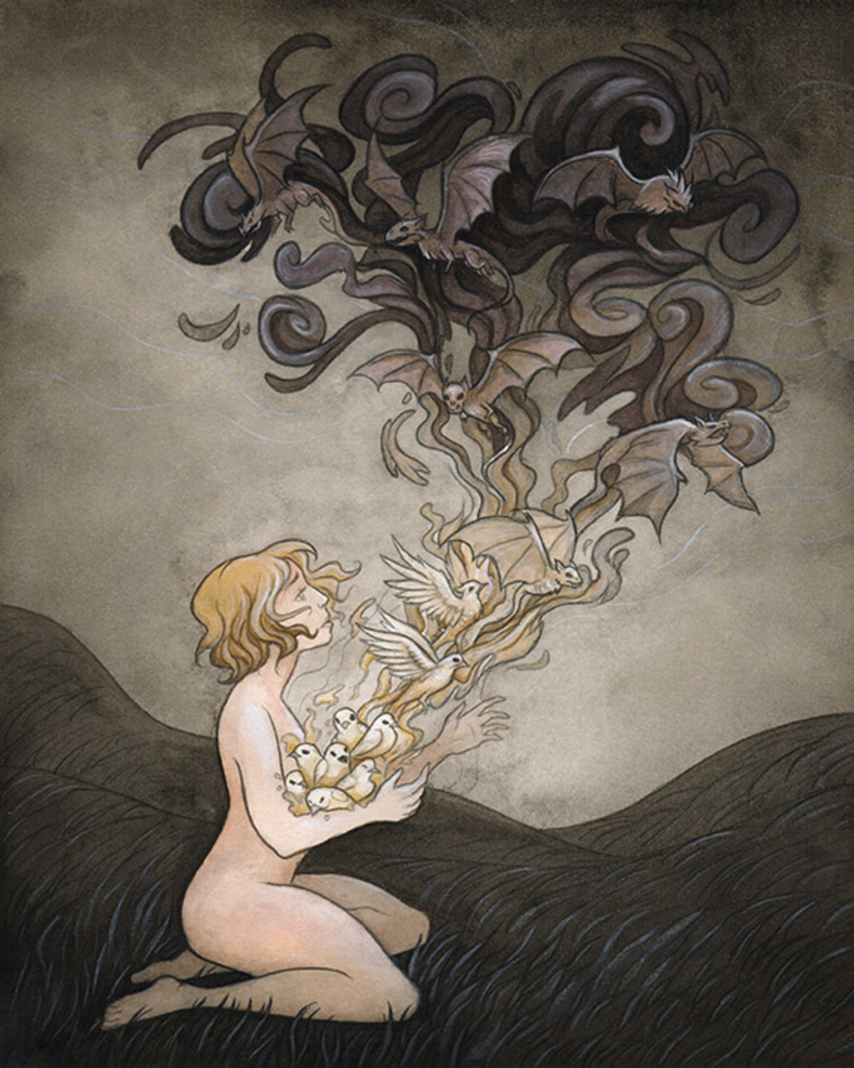 Illusions Lifted Artwork by Madalyn McLeod