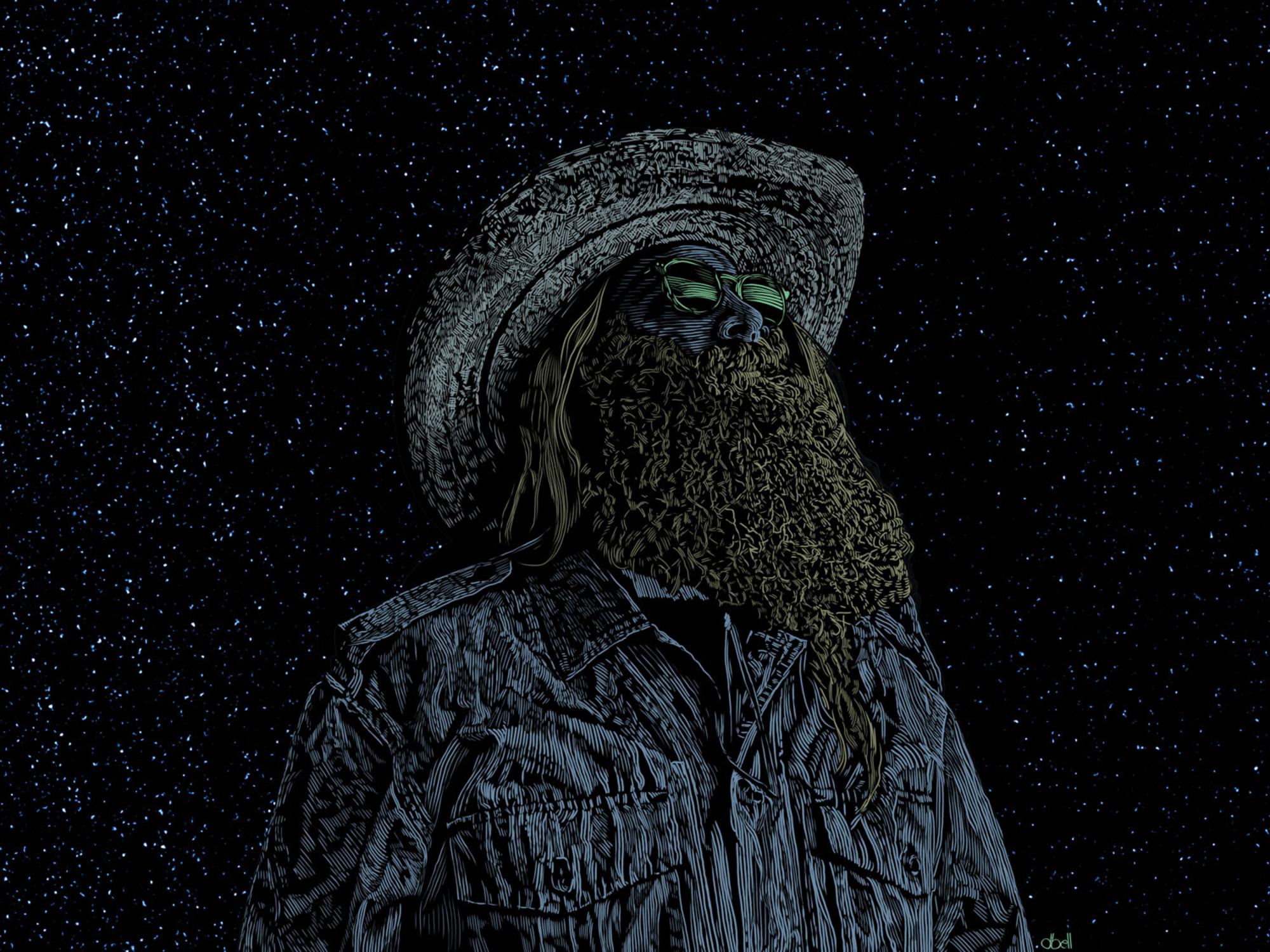 Night Watcher Artwork by Douglas Bell