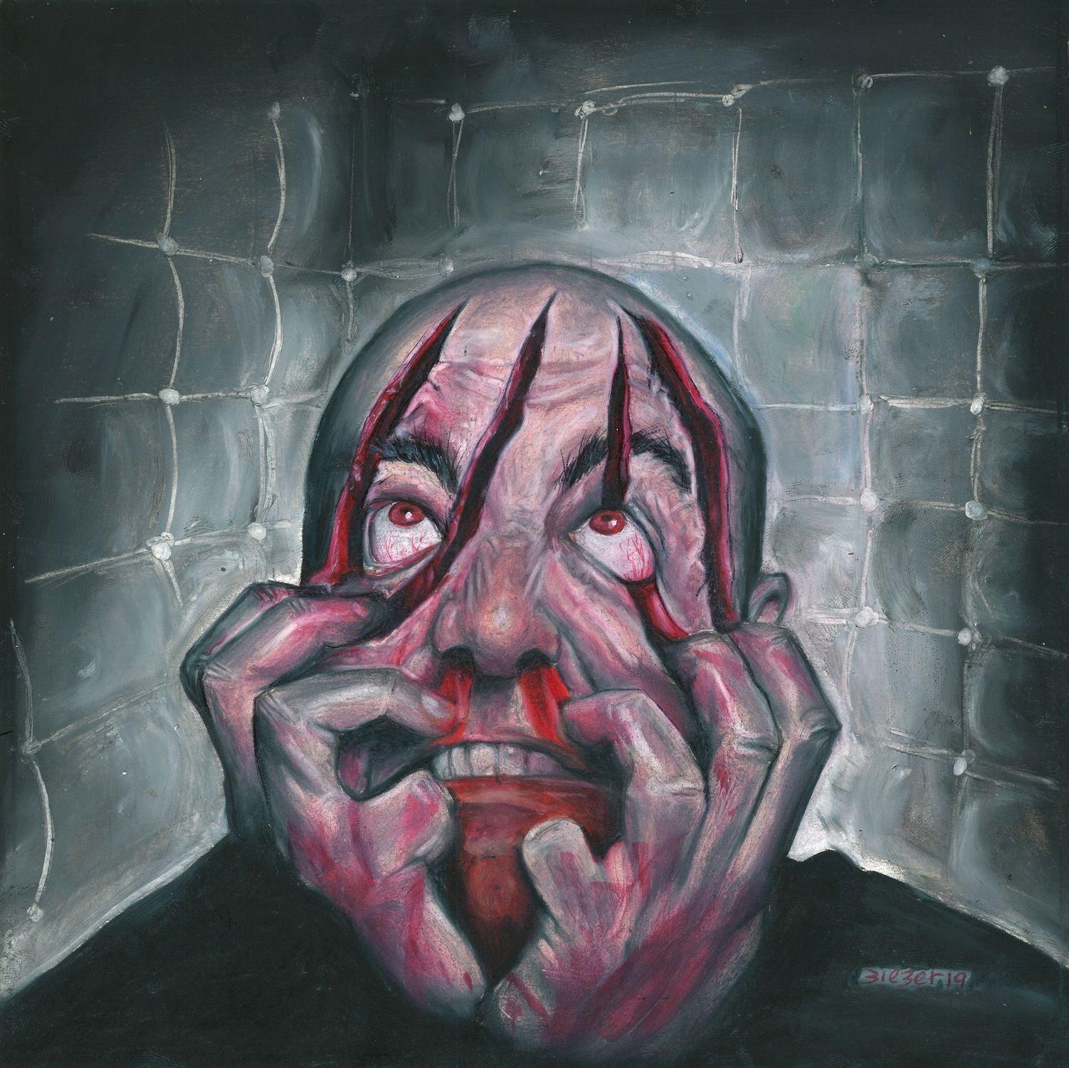 clawface Artwork by Bob Bieber