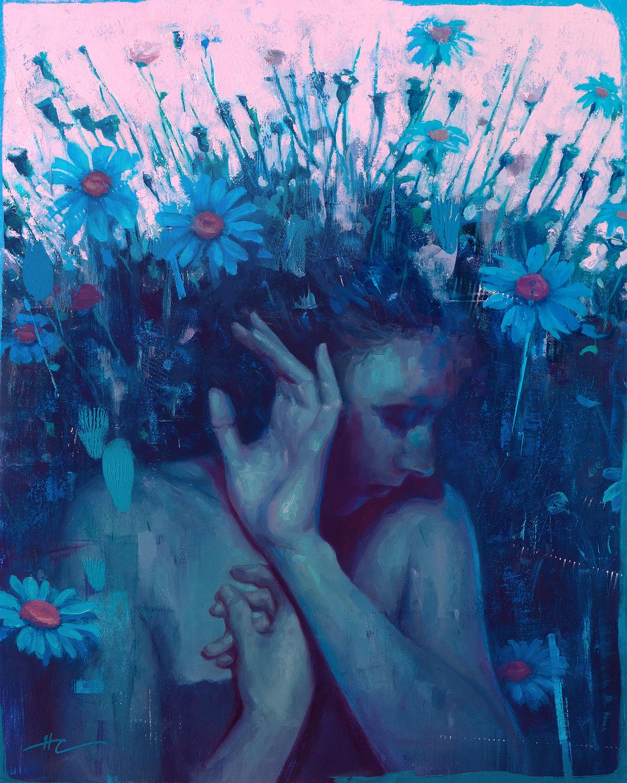 Undergrowth Artwork by Hilary Clarcq