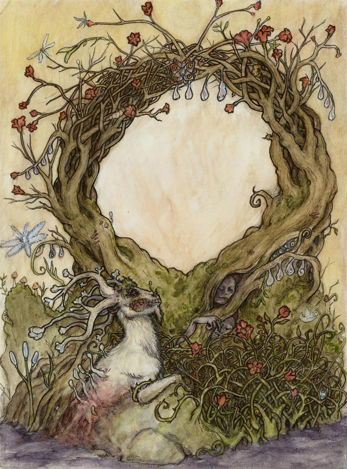 The Gate Lies Dormant Artwork by Anna Rogers
