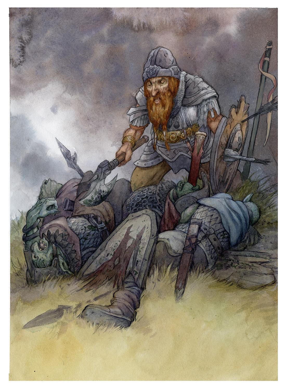 Sole Survivor Artwork by David Wenzel