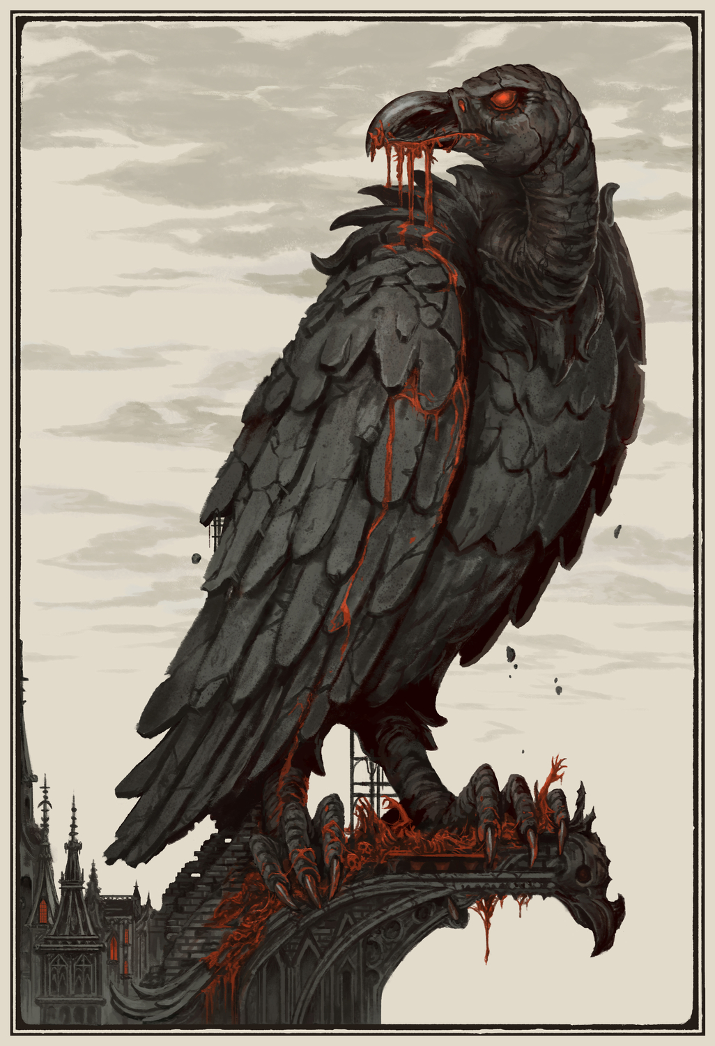 The Vulture Artwork by James Bousema