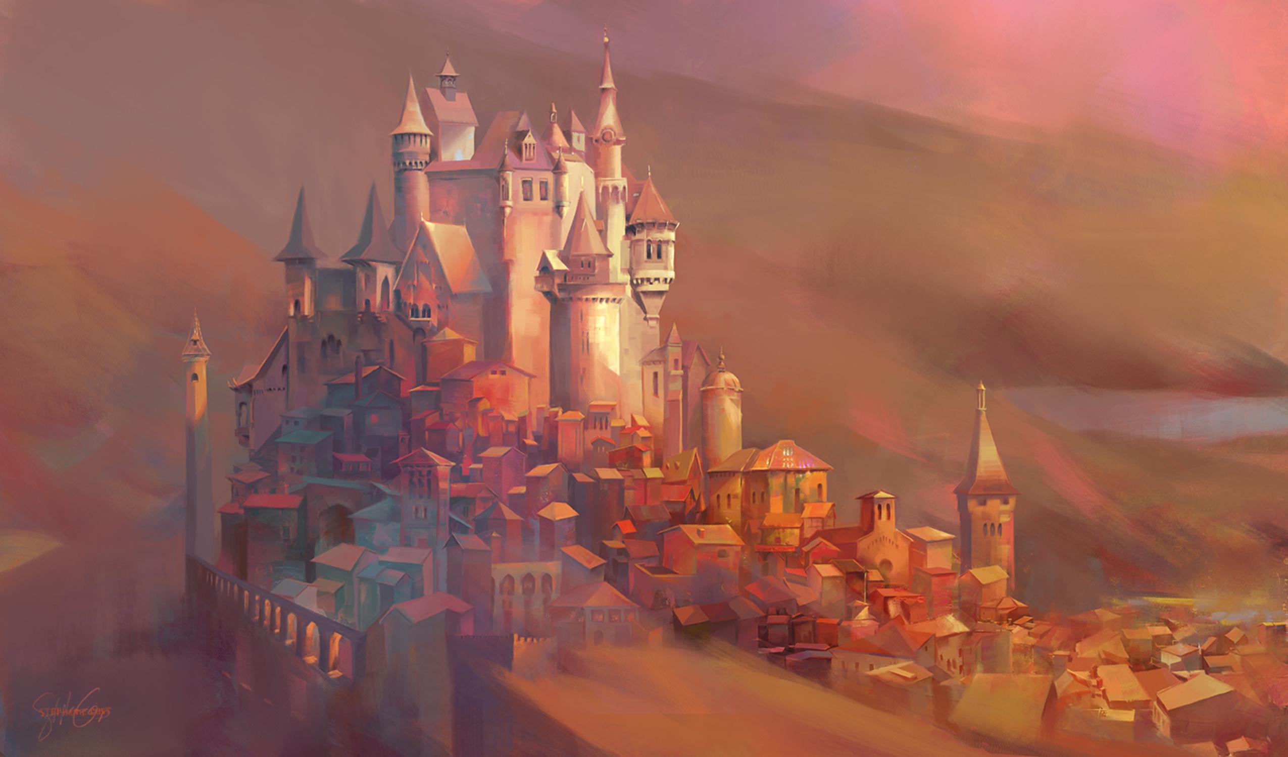 Torendaar, The Golden City Artwork by Stephanie Cost