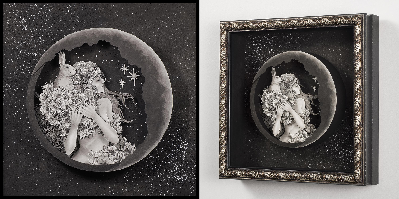 Queen of the Night Artwork by Daria Aksenova