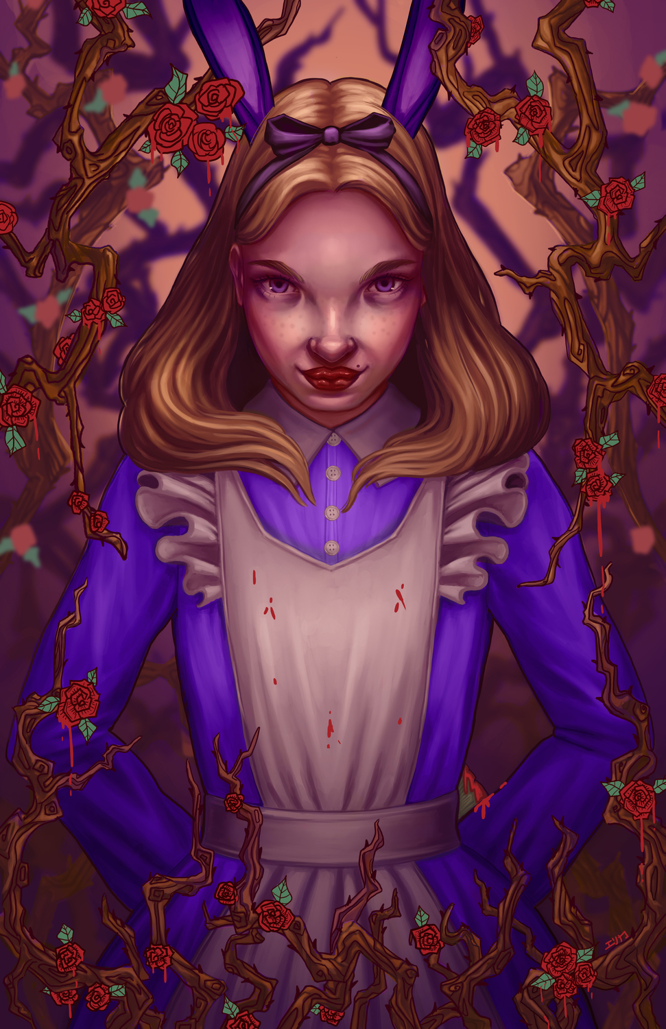 Alice Artwork by Erica Willey