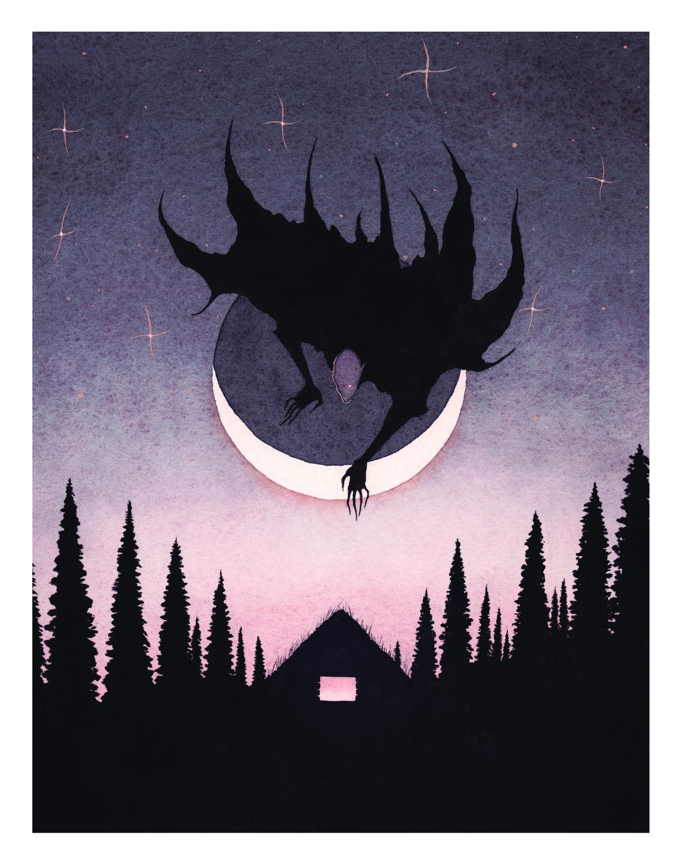 Vampire Artwork by Xavier Ortiz