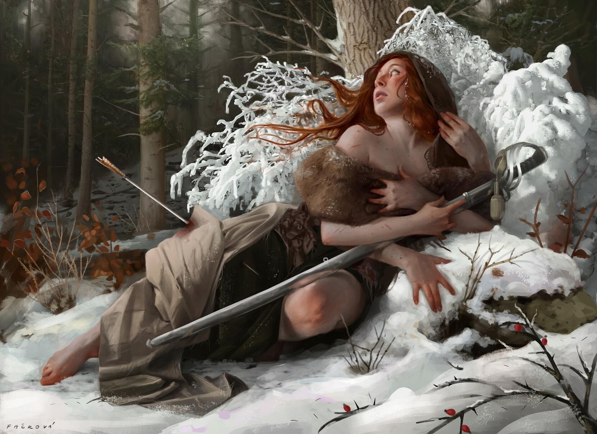 The Hunt Artwork by Martina Fackova