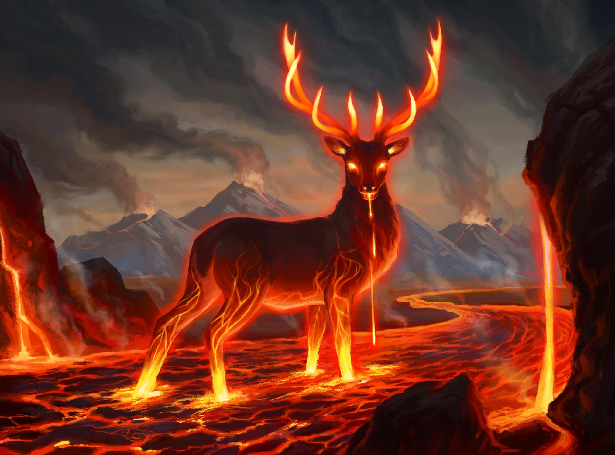 Flame Eater Artwork by Kathleen OHara