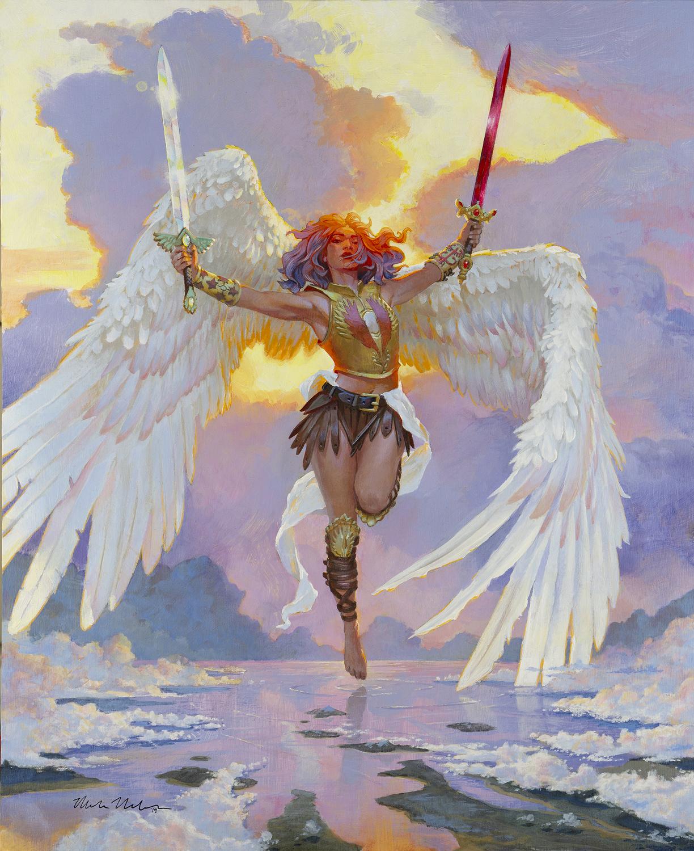 Guardian Angel Artwork by Mark Molchan