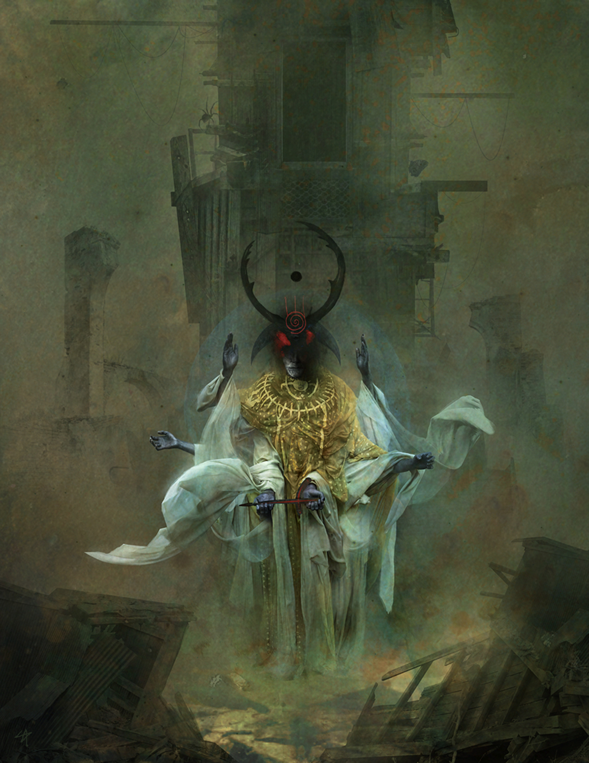 The King in Yellow - The Tatters of the King Artwork by Samuel Araya