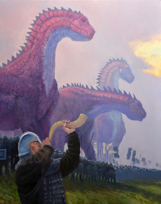 Battle Dragons Artwork by Armand Cabrera