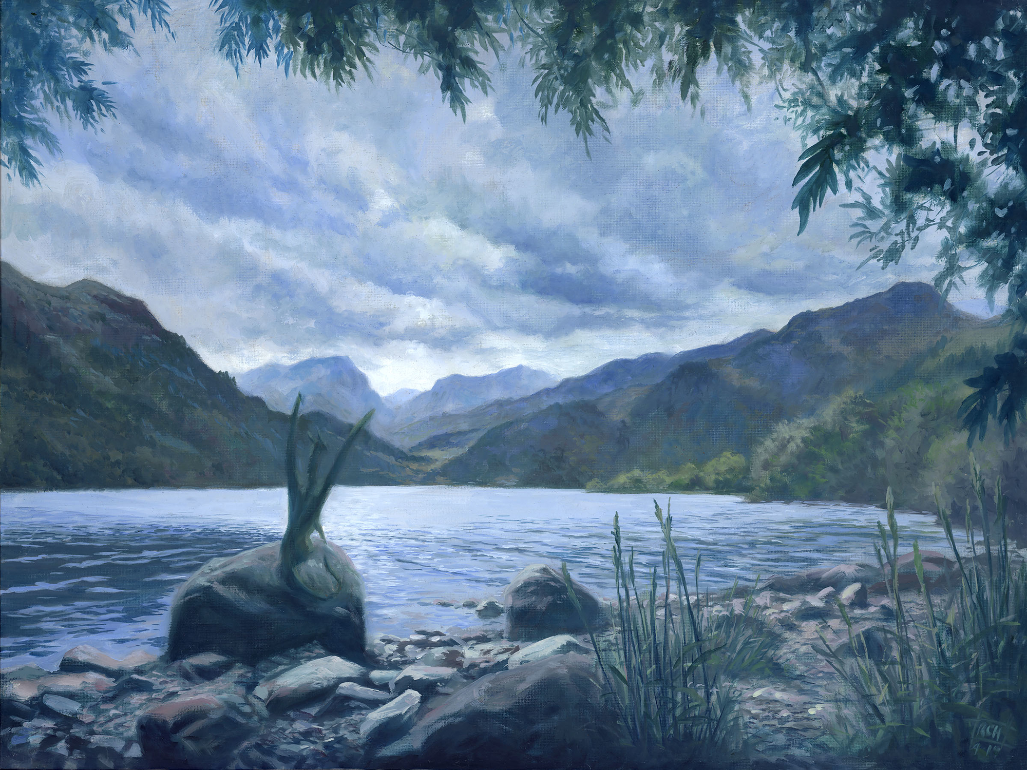 Contemplate Artwork by Ralph Horsley
