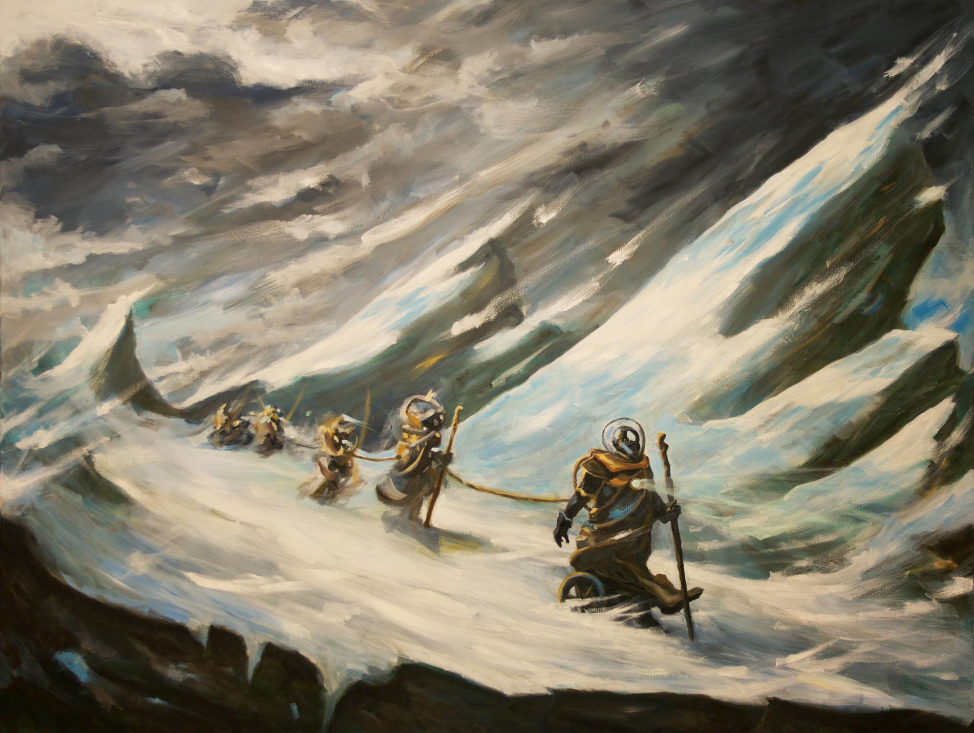 Exodus Artwork by Brian McElligott