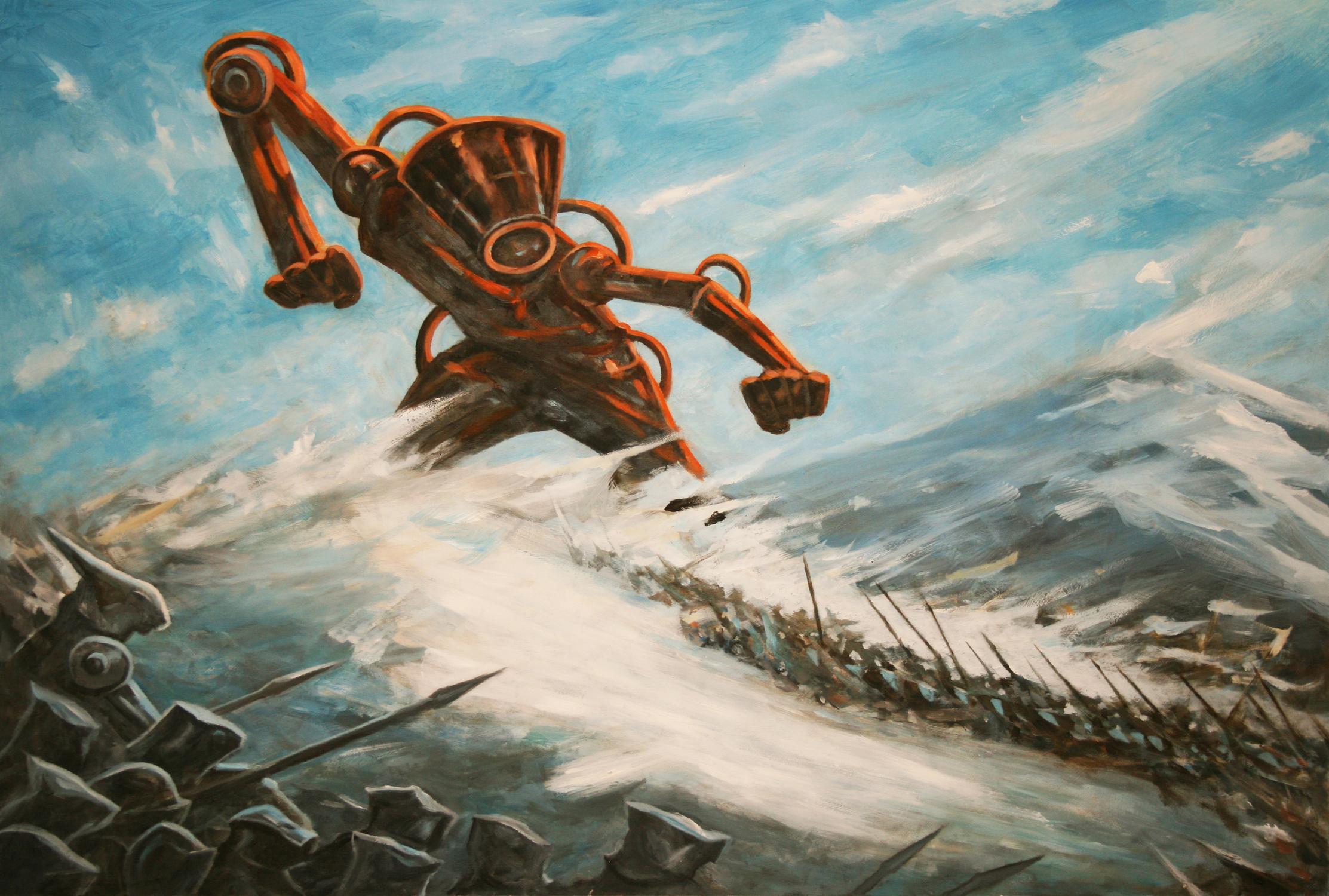 Titan 1 Artwork by Brian McElligott