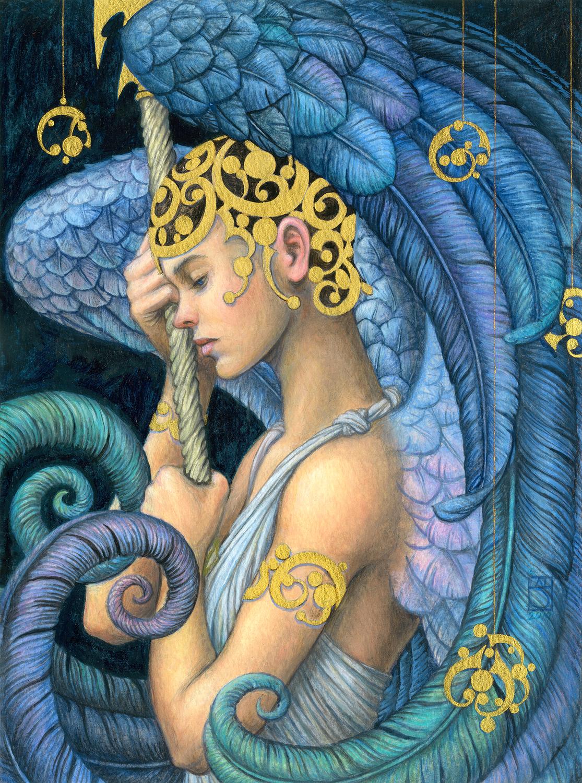 The Angel Reigrette Artwork by Jody Lee