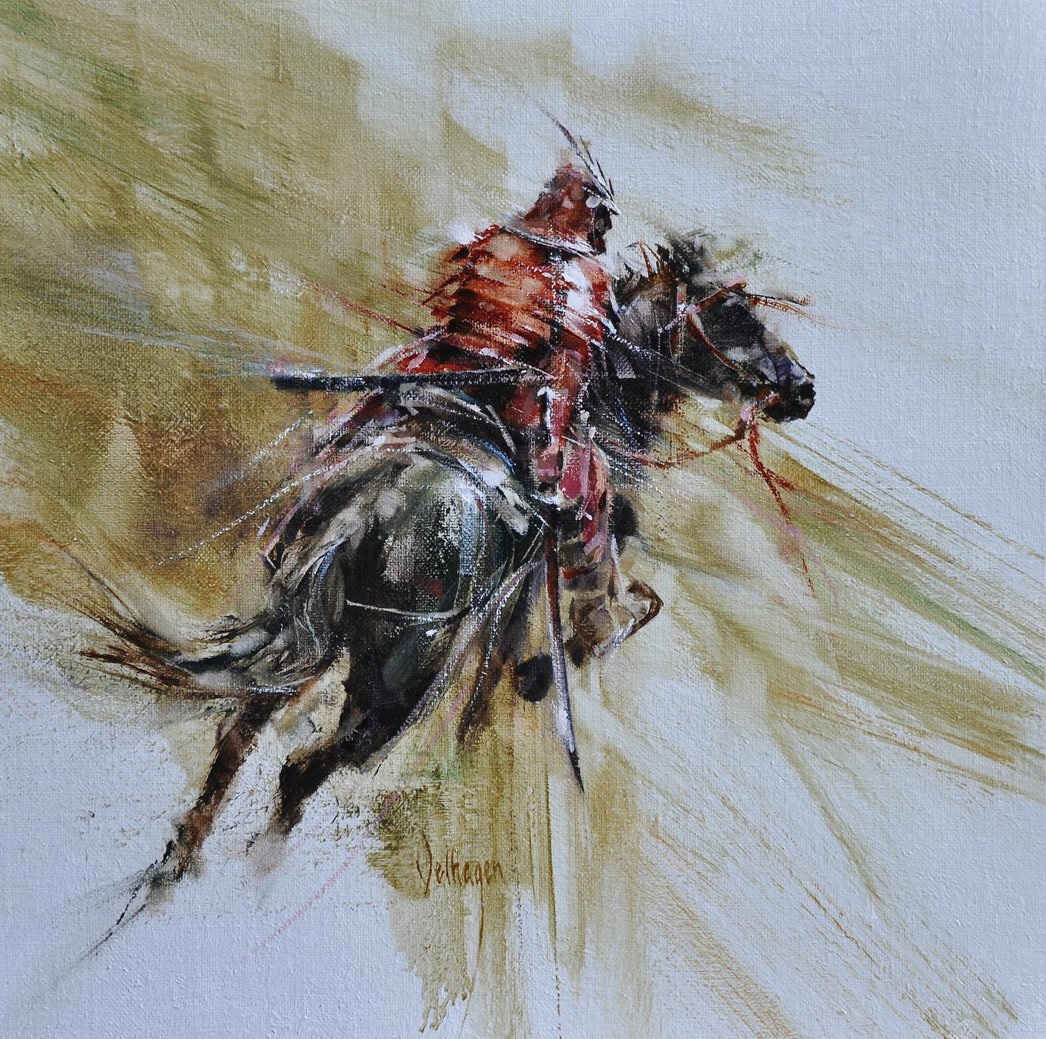 Red Samurai Artwork by Eric Velhagen