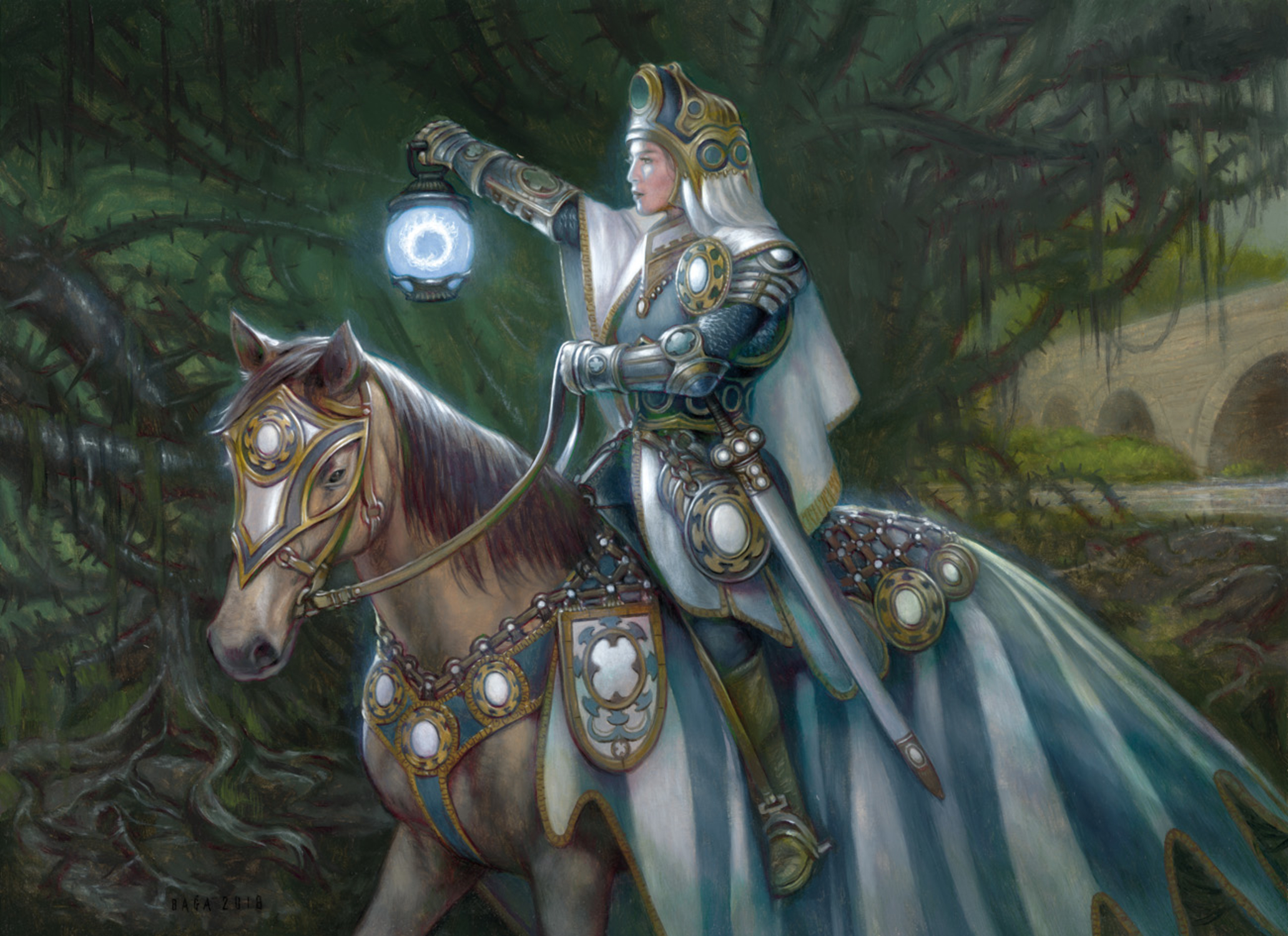 Ardenvale Paladin Artwork by Volkan Baga