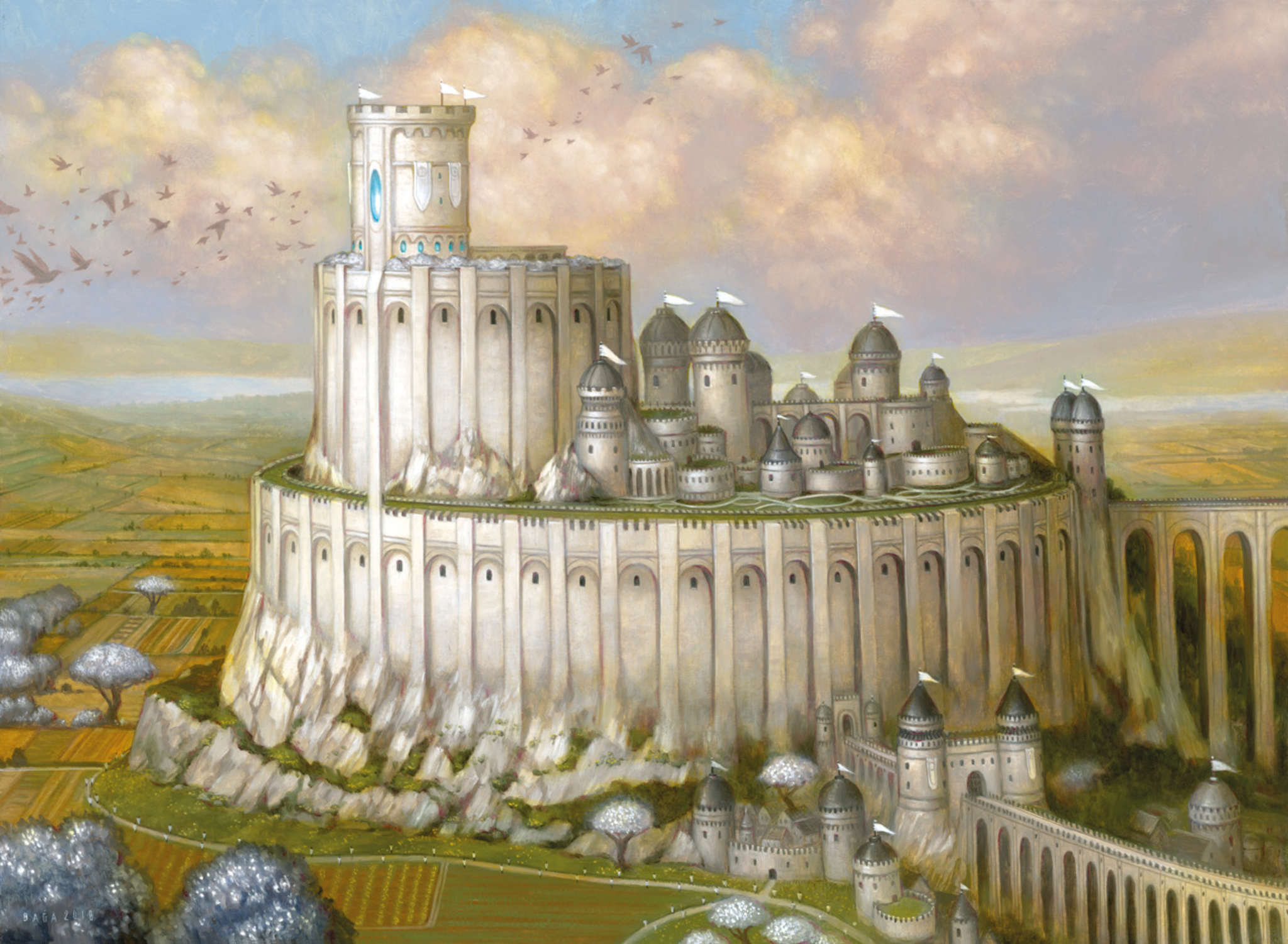Castle Ardenvale Artwork by Volkan Baga