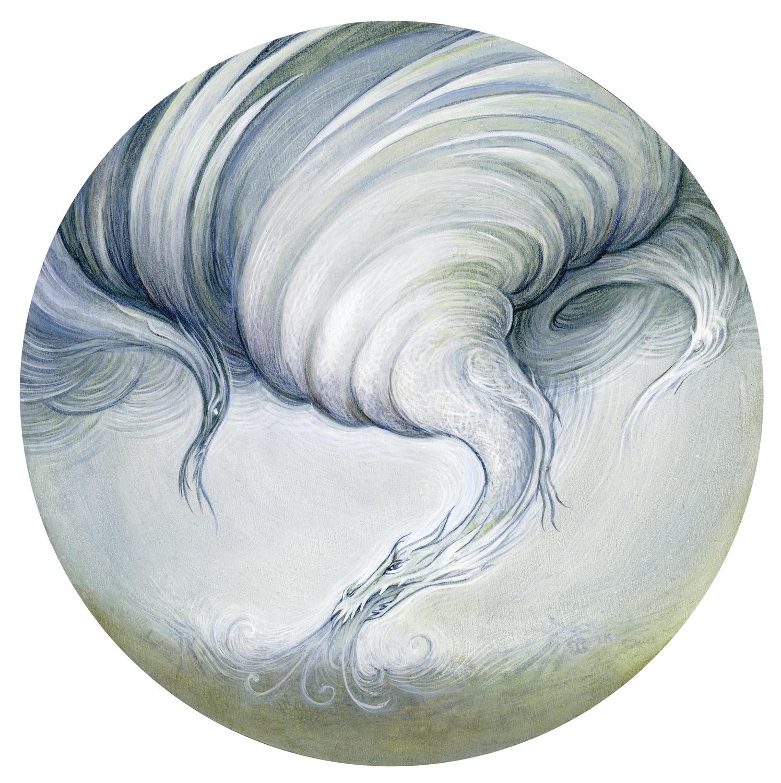 Disaster Dragons Series - Tornado Artwork by I. S. Kallick