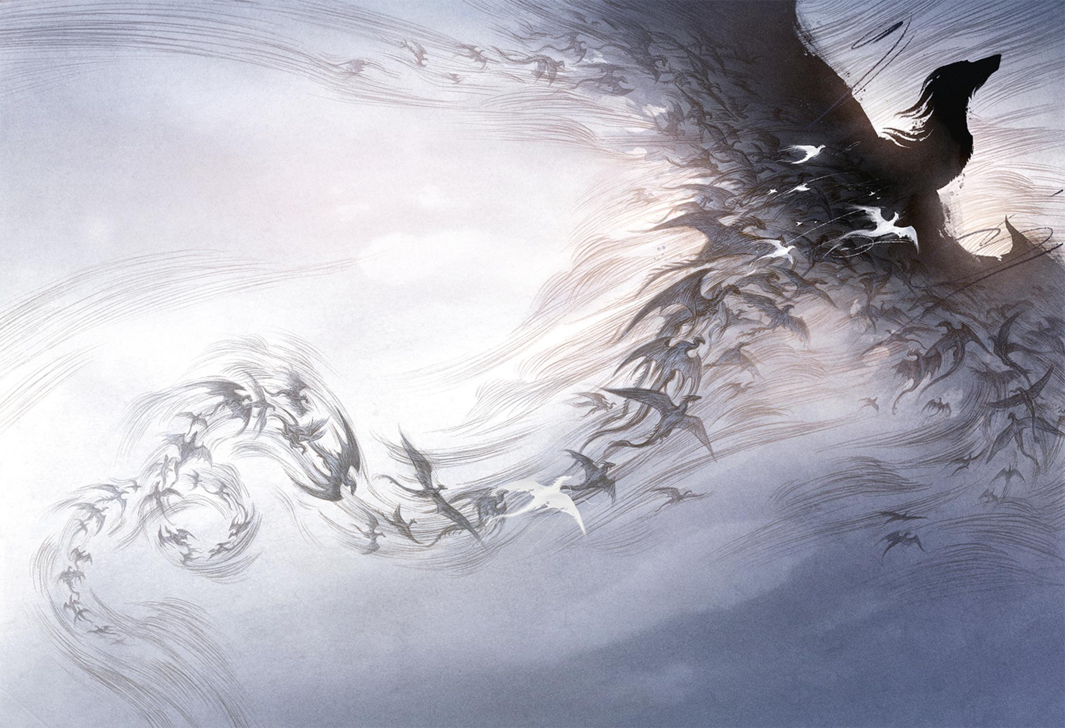 Dragon Swarm Artwork by Rovina Cai