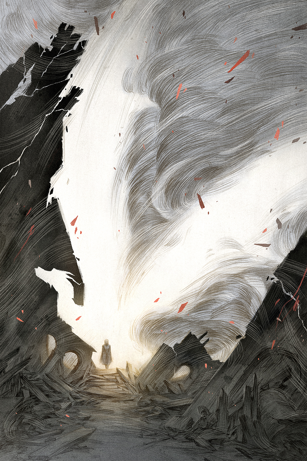 Queen of the Ashes Artwork by Rovina Cai