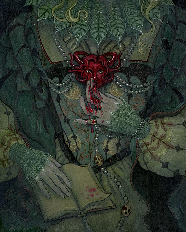 The Devil's Invitation Artwork by Sam Guay