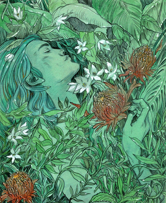 Serenity Artwork by Elliot Lang