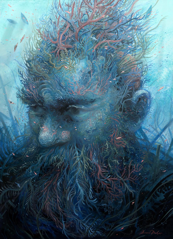 Steward of the Depths Artwork by Serena Malyon