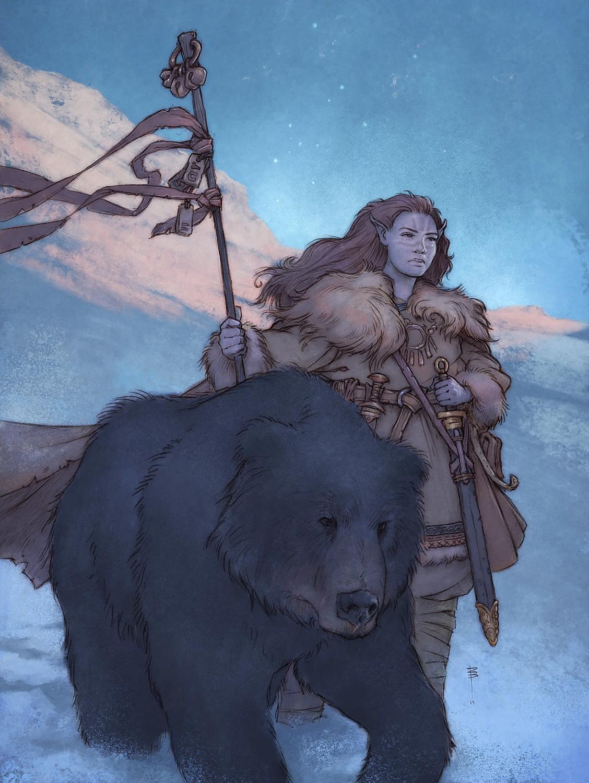 Bear's Companion II Artwork by David Brasgalla