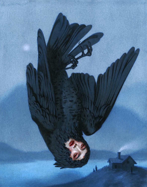 In the Dead of Night Artwork by Tran Nguyen