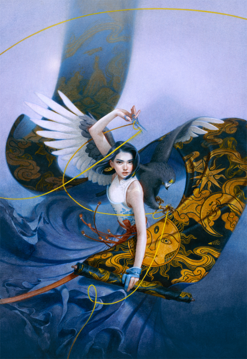 Spin the Dawn Artwork by Tran Nguyen