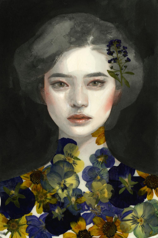 Study No. 80 Artwork by Tran Nguyen
