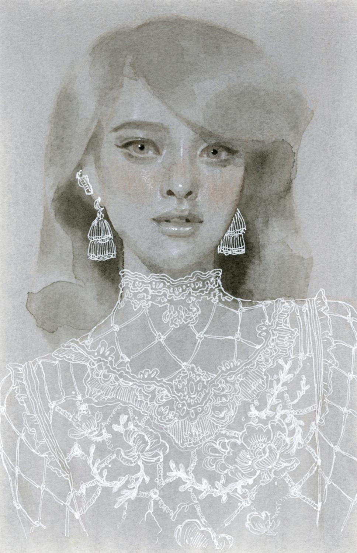 Study No. 56 Artwork by Tran Nguyen
