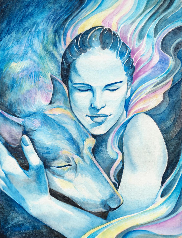 She Warms My Heart Artwork by Susan Shorter