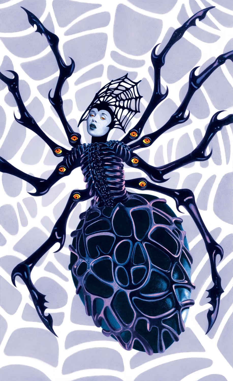 La Araña (The Spider) Artwork by John Picacio