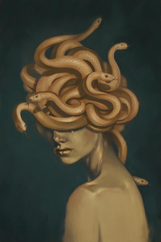 Medusa Artwork by Ryan Pearse