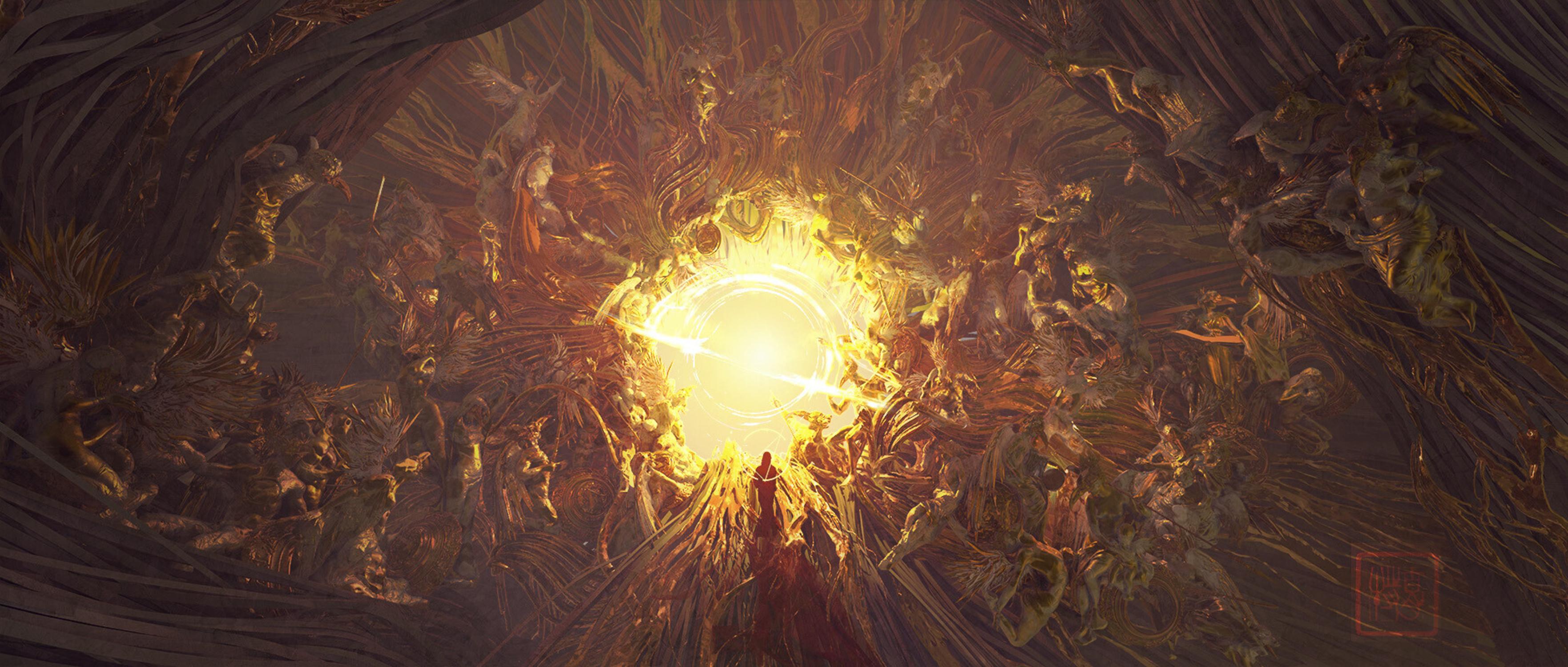 gate to heaven Artwork by TE HU