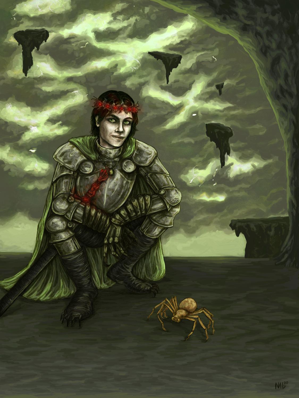 Prince of Carceri Artwork by Morgan Lees