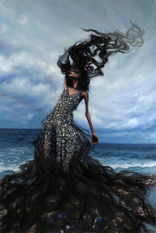 Be a Lady They Said Artwork by Tiffany Dae