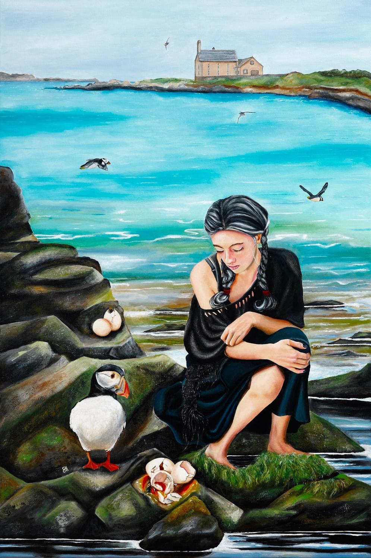 Five of Water Artwork by Saskia Huitema