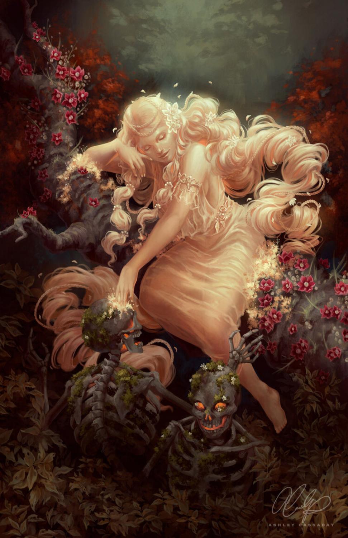 Persephone Artwork by Ashley Cassaday