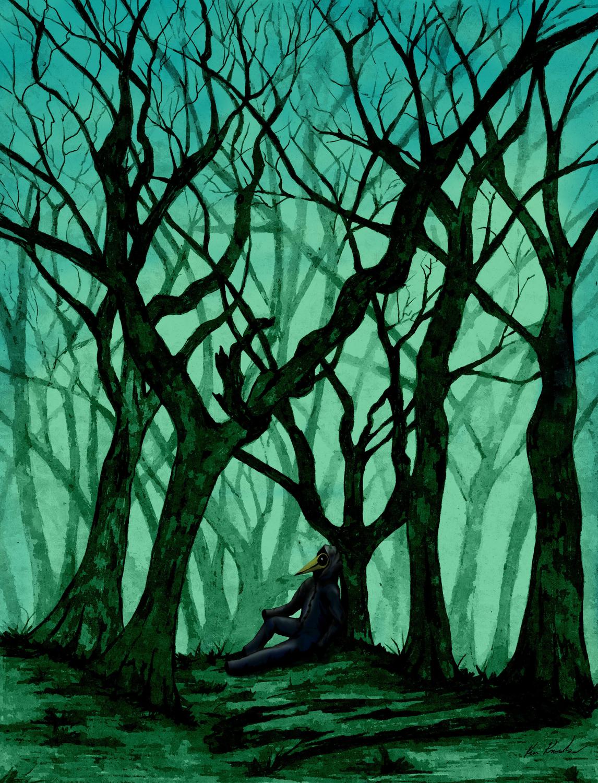 Watcher Artwork by Ken Knowles