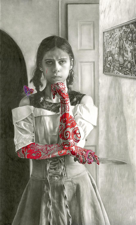 Medea Artwork by Grace Netanya