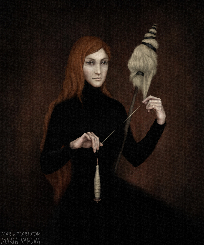 Thread Artwork by Maria Ivanova